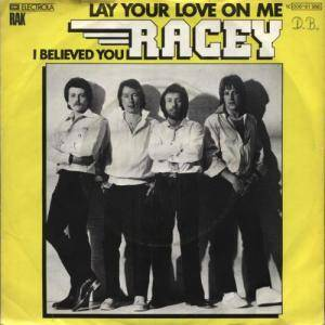 Cover - Racey: Lay Your Love On Me