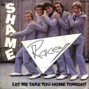 Cover - Racey: Shame