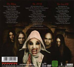 Legion Of The Damned: Cult Of The Dead (2-CD + DVD) - Bild 2