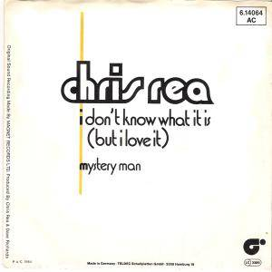 Chris Rea: I Don't Know What It Is But I Love It - Cover
