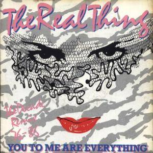 The Real Thing: You To Me Are Everything - Cover