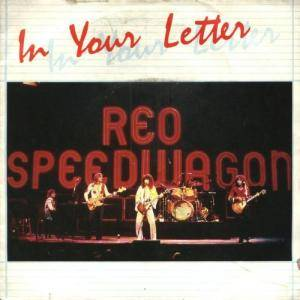 Cover - REO Speedwagon: In Your Letter