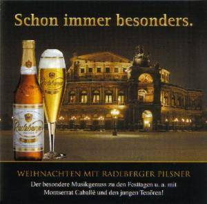 weihnachten mit radeberger pilsner cd 2008. Black Bedroom Furniture Sets. Home Design Ideas