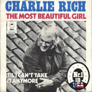 Charlie Rich: Most Beautiful Girl, The - Cover
