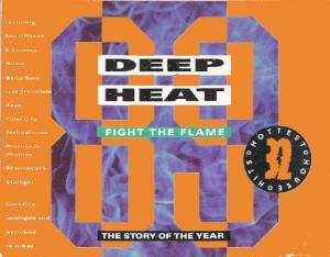 Deep Heat '89 - Fight The Flames - Cover