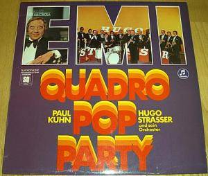 Cover - Paul Kuhn: Quadro Pop Party