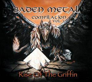 Cover - Lyfthrasyr: Baden Metal Compilation Vol. 1 - Rise Of The Griffin