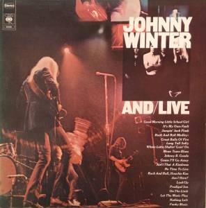 Johnny Winter: And/Live - Cover