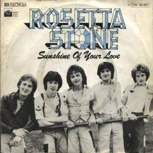 Cover - Rosetta Stone: Sunshine Of Your Love