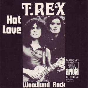 T. Rex: Hot Love - Cover