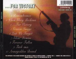Bolt Thrower: ...For Victory (CD) - Bild 2