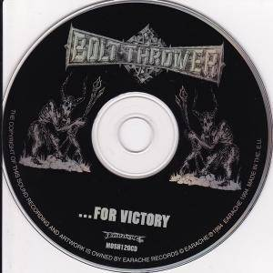 Bolt Thrower: ...For Victory (CD) - Bild 5