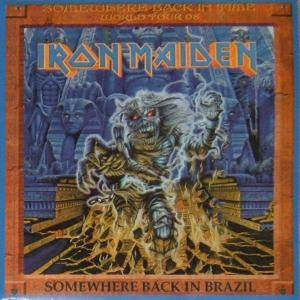 Iron Maiden: Somewhere Back In Brazil - Cover