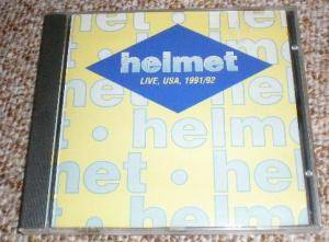 Helmet: Live, USA, 1991/1992 - Cover