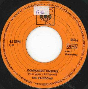 Cover - Rainbows, The: Kommando Pimperle