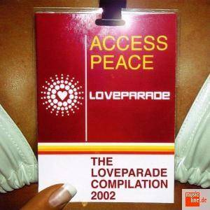 Cover - Märtini Brös.: Access Peace - The Loveparade Compilation 2002