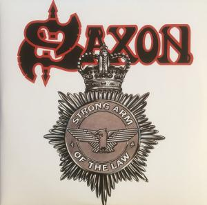 Saxon: Strong Arm Of The Law - Cover