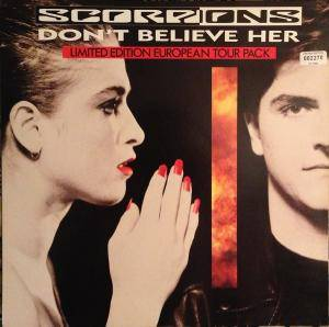 Scorpions: Don't Believe Her - Cover