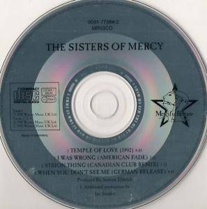 The Sisters Of Mercy: Temple Of Love (1992) (Single-CD) - Bild 4