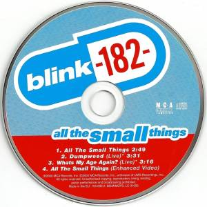 blink-182: All The Small Things (Single-CD) - Bild 6
