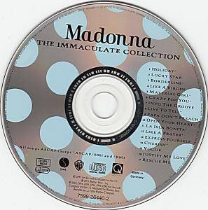 Madonna: The Immaculate Collection (CD) - Bild 3
