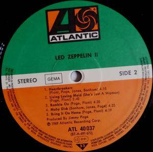 Led Zeppelin: II (LP) - Bild 4