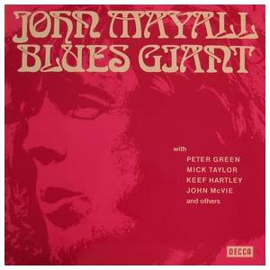 John Mayall: Blues Giant - Cover