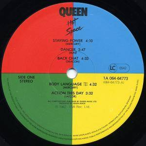 Queen: Hot Space (LP) - Bild 4