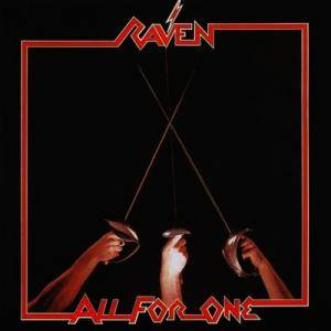 Raven: All For One - Cover