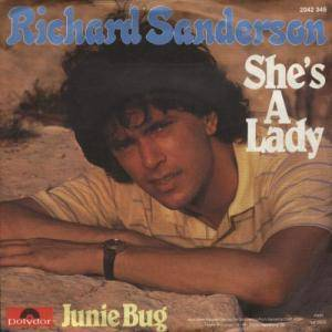 Cover - Richard Sanderson: She's A Lady