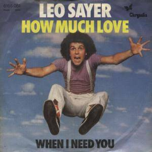 Leo Sayer: When I Need You - Cover