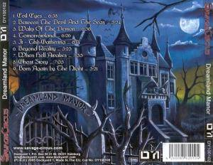 Savage Circus: Dreamland Manor (CD) - Bild 2
