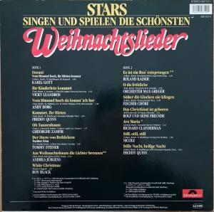 Stars Singen Die Schönsten Weihnachtslieder.Stars Singen Und Spielen Die Schönsten Weihnachtslieder Lp