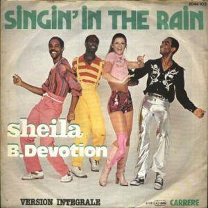 Sheila B. Devotion: Singin' In The Rain - Cover
