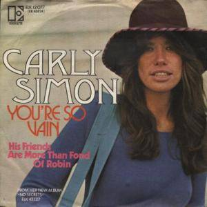 Carly Simon: You're So Vain - Cover