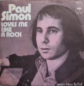 Paul Simon: Loves Me Like A Rock - Cover