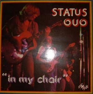 Status Quo: In My Chair - Cover