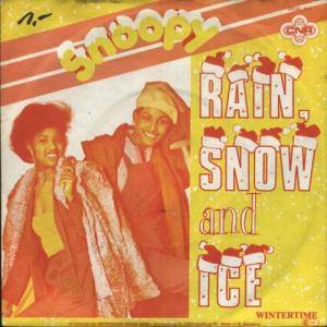 Cover - Snoopy: Rain, Snow And Ice
