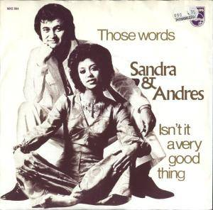Cover - Sandra & Andres: Those Words