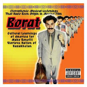 Borat: Cultural Learnings Of America For Make Benefit Glorious Nation Of Kazakhstan - Cover