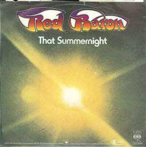 Cover - Red Baron: That Summernight