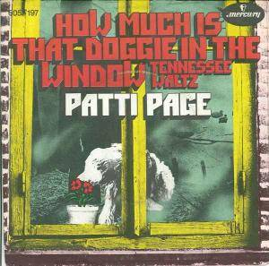 Cover - Patti Page: How Much Is That Doggie In The Window