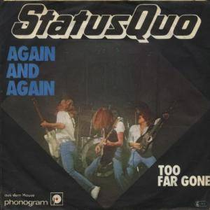Status Quo: Again And Again - Cover