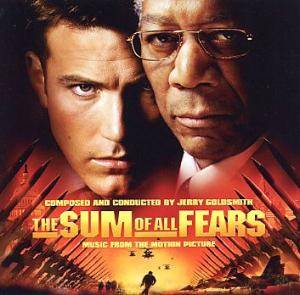 Jerry Goldsmith: Sum Of All Fears, The - Cover