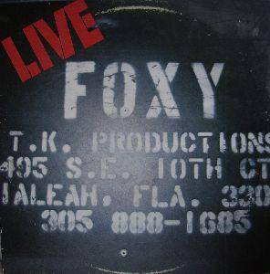 Cover - Foxy: Live