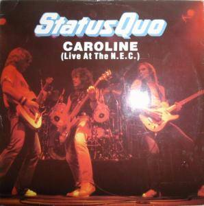 Status Quo: Caroline (Live At The N.E.C.) - Cover
