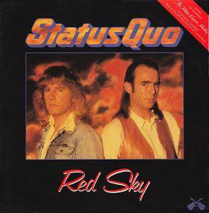 Status Quo: Red Sky - Cover