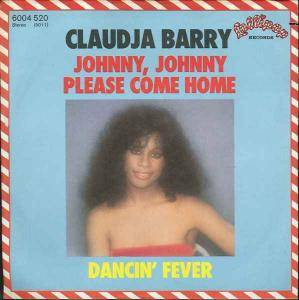 Cover - Claudja Barry: Johnny, Johnny Please Come Home