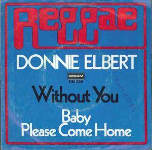 Cover - Donnie Elbert: Without You
