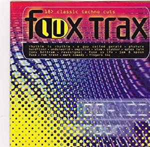 Cover - Dark Comedy: Flux Trax - 18 Classic Techno Cuts